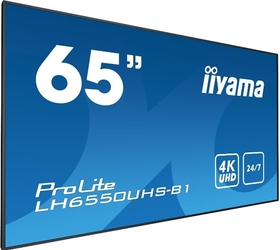 Monitor led iiyama lh6550uhs-b1 4k 65 - możliwość montażu - zadzwoń: 34 333 57 04 - 37 sklepów w całej polsce