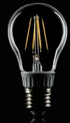Żarówka led - filament - p-k - e27 - 230v - 4w - biała ciepła le