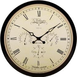 Zegar ścienny Aaltje Weather Station Nextime 45 cm - stacja pogodowa 2970