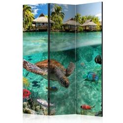 Parawan 3-częściowy - pod powierzchnią wody room dividers