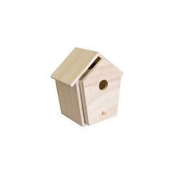 Drewniany domek dla ptaszków - szufladka