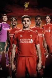 Liverpool zawodnicy 1415 - plakat
