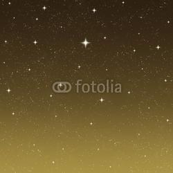 Board z aluminiowym obramowaniem rozgwieżdżone nocne niebo