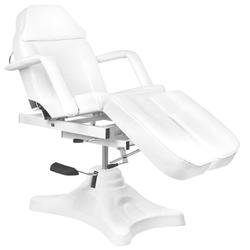 Fotel kosmetyczny hyd. a 234c pedi biały