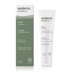 Sesderma mandelac peeling mechaniczny do twarzy i ciała mandelac face and body scrub - 50 ml atrakcyjne próbki