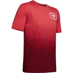 Koszulka męska project rock iron paradise ss - czerwony