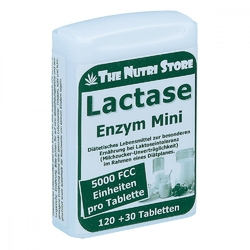 Lactase 5000 fcc enzym mini tabletki