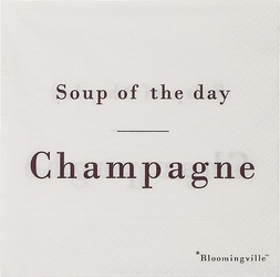 Serwetki Soup of the Day Champagne 20 szt.