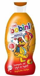 Bobini, Magiczne Mango, szampon, żel i płyn do kąpieli, 330 ml