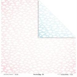 Uroczy papier pink and blue joy 30,5x30,5 cm - 04 - 04