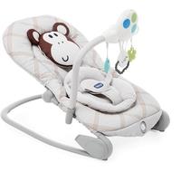 Chicco balloon monkey leżaczek bujaczek + puzzle