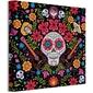 Coco kolorowa czaszka - obraz na płótnie