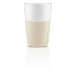 Eva solo - zestaw 2 filiżanek do latte, beżowy - 0,36 l