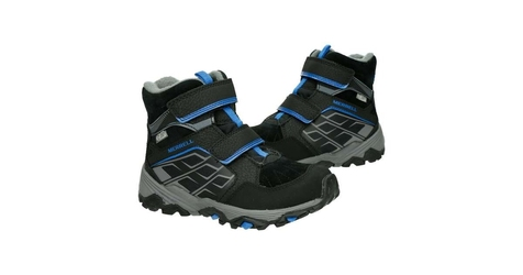 Buty merrell ml-b moab polar waterproof black 32 czarny