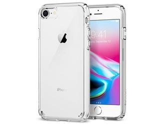 Etui spigen ultra hybrid 2 apple iphone 78se 2020 crystal clear - przezroczysty