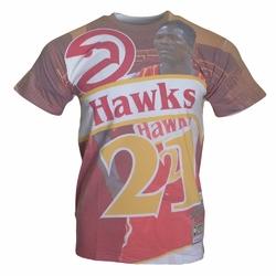Koszulka City Pride MN Tee Atlanta Hawks Dominique Wilkins NBA - BMTRKT18007-AHARED1DWI - Dominique Wilkins