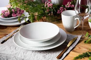 Zestaw obiadowy dla 6 osób porcelana mariapaula natura 18 elementów