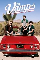 The vamps car - plakat