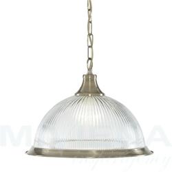American diner lampa wisząca antyczny mosiądz