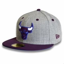 Czapka New Era 59FIFTY NBA Chicago Bulls Graphite - 024