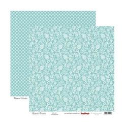 Papier 30x30 cm Summer Joy - Flowering vine - 04