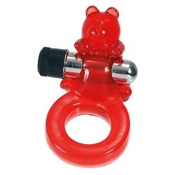 Pierścień na penisa - jelly bear cock ring