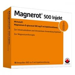 Magnerot 500 injekt amp.