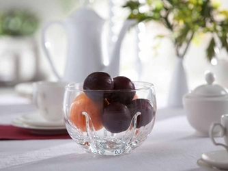 Salaterka  owocarka szklana edwanex mandarynka 17 cm