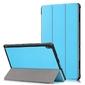 Etui alogy book do lenovo tab e10 10.1 tb-x104fl niebieskie + folia + rysik - niebieski