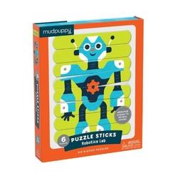 Puzzle-patyczki mudpuppy - roboty