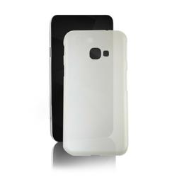 Qoltec Etui na Samsung Galaxy Xcover 4, PC Hard Clear, mleczne