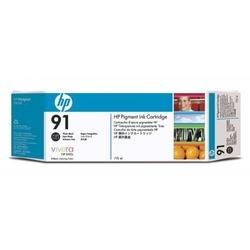 Hp 91 zestaw 3 wkładów atramentowych: czarny fotograficzny 775 ml