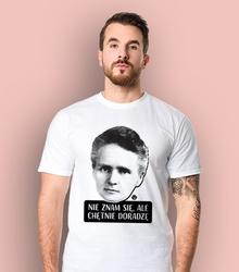 Nie znam się, ale chętnie doradzę t-shirt męski biały l