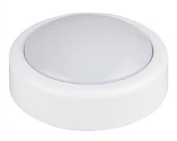 Lampka push dotykowa biała
