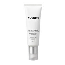 medik8 white balance overnight repair rozjaśniający krem na noc 50 ml