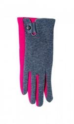 Yo r-039 z zapinką damskie rękawiczki