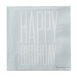 Serwetki Happy Birthday 20 szt.