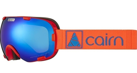 Gogle narciarskie cairn spirit spx3 - mat orange blue