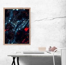 Ornament - plakat premium wymiar do wyboru: 40x60 cm