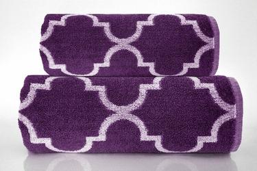 Ręcznik Greno Decor Śliwkowy - śliwkowy