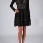 Soky soka  sukienka czarny 53015-1