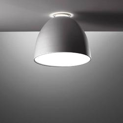 Artemide :: lampa sufitowa  plafon nur mini szara śr. 36 cm