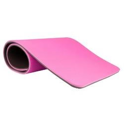 Mata do ćwiczeń profi różowa - insportline - różowy