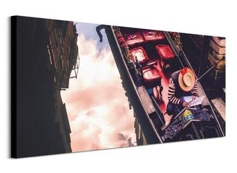 Gondola - obraz na płótnie