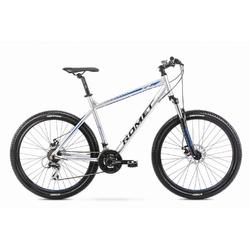 Rower górski romet rambler r7.1 27,5 2020, kolor srebrny, rozmiar 17