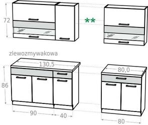 Zestaw kuchenny 210 bb kamduo