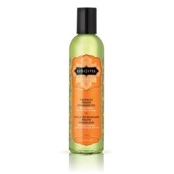Lekki olejek do masażu i nawilżania - kamasutra naturals massage oil tropikalny - 236gram