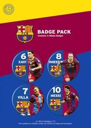 Barcelona Gracze - zestaw 4 przypinek