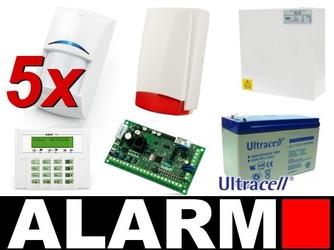 Alarm satel versa 5 lcd, 5 x pir, syg.zew. - szybka dostawa lub możliwość odbioru w 39 miastach