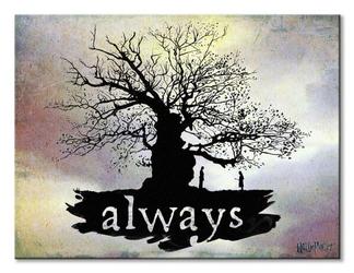 Harry potter always - obraz na płótnie